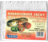 Impro Microtene snack bag 12my 160 x 240 mm 50 pieces