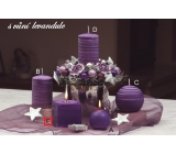 Lima Wellness Levandule aroma svíčka krychle 65 x 65 mm 1 kus