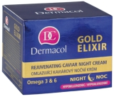 Dermacol Gold Elixir Rejuvenating Caviar Night Cream 50 ml