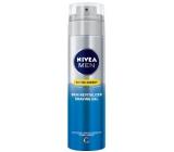 Nivea Men Active Energy revitalizační gel na holení pro muže 200 ml