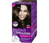 Schwarzkopf Perfect Mousse Permanent Foam Color barva na vlasy 400 Ledové Espresso