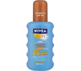 Nivea Sun Protect & Bronze SPF20 intenzivní sprej na opalování Medium 200 ml