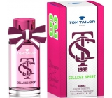 Tom Tailor College Sport Woman toaletní voda 30 ml