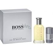 Hugo Boss Boss No.6 Bottled toaletní voda pro muže 200 ml + deodorant stick 75 ml, dárková sada
