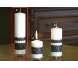 Lima Krajka svíčka bílá válec 60 x 220 mm 1 kus