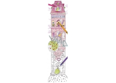 Monumi Cheerful meter Tower jigsaw puzzle for children 5+ 160 x 40 cm