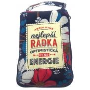 Albi Foldable bag with zipper called Radka size: 42 cm × 41 cm × 11 cm
