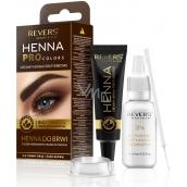 Reverse BIO Henna eyelash and eyebrow color Brown 12 ml + 12 ml