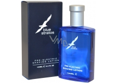 Blue Stratos electric shaver before shaving 100 ml