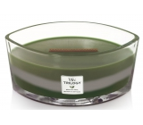 WoodWick Trilogy Mountain Trail - Mountain Trail Scented Candle with Wooden Wick and Lid 453 g