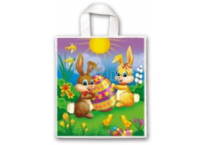 Press Plastic bag 45 x 50 cm with handle Easter Bunnies 1 piece