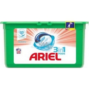 Ariel 3in1 Sensitive gel capsules for washing laundry 35 pieces 931 g