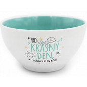 Nekupto Gift Center Ceramic Bowl For a beautiful day 13 x 6.5 cm