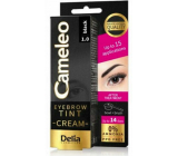 Delia Cosmetics Cameleo Creamy professional eyebrow color, ammonia-free 1.0 Black - Black 15 ml