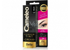 Delia Cosmetics Cameleo Creamy professional eyebrow color, ammonia-free 1.0 Black - Black 15 ml