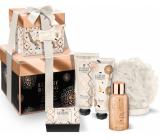Grace Cole Box Of Delights shower gel 50 ml + hand cream 50 ml + body cream 50 ml + bath pearls 80 g + body sponge, cosmetic set