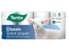This Classic toilet paper 3 ply 150 pieces 8 pieces