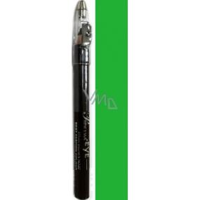 Princessa Fashion Best Color waterproof shading eye pencil 09 Emerald Green with glitter 3.5 g