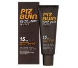 Piz Buin Ultra Light Dry Touch Face Fluid hydratační fluid na tvář SPF15 50 ml