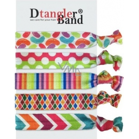 Dtangler Band Set Disco gumičky do vlasů 5 kusů