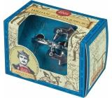 Albi Great Minds William I. Conqueror metal puzzle 4.8 x 4.8 x 7.6 cm