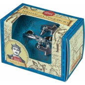 Albi Great Minds William I the Conqueror metal puzzle 4.8 x 4.8 x 7.6 cm