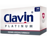 Clavin Platinum firm and fast erection capsule of 20 pieces