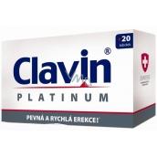 Clavin Platinum pevná a rychlá erekce tobolky 20 kusů