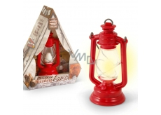If The Base Camp Reading Lamp Red 44 x 40 x 117 mm