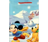 Baby gift bag L Disney Mickey Mouse and Pluto on skates