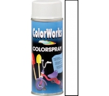 Color Works Colorspray 918517 bílý lesklý alkydový lak 400 ml