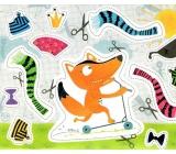 Nekupto Gift paper bag medium 23 x 17,5 x 10 cm Fox 1582 LFM