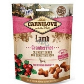Carnilove Dog lamb with cranberries Delicious crispy treat suitable for all cranberries for strong immunity.200 g