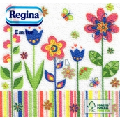 Regina Easter Paper Napkins Colorful Flowers 1 ply 33 x 33 cm 20 pieces