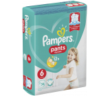 Pampers Pants size 6, 15+ kg diaper panties 38 pieces