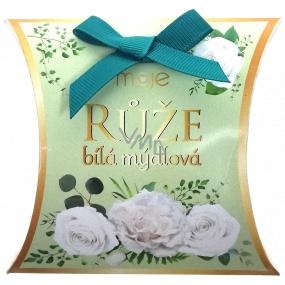 NeoCos Rose white soap gift fragrant toilet soap 30 g