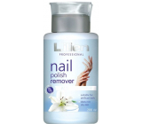 Lilien Acetone-free nail polish remover with the scent of lily with a blue pump 200 ml