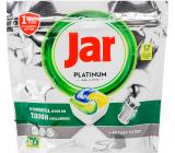 Jar Platinum All in One Lemon dishwasher capsules 17 pieces