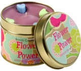 Bomb Cosmetics The power of flowers fragrant natural, handmade candle in a tin can burn for up to 35 hours