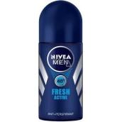 Nivea Men Fresh Active ball antiperspirant deodorant roll-on for men 50 ml
