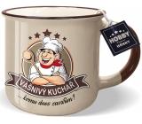 Nekupto Hobby Mug with Passionate Chef 250 ml