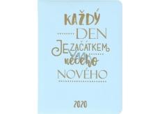 Albi Diary 2020 daily Start 17 x 12.6 x 2.4 cm