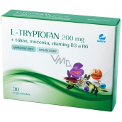 Setaria L-Tryptophan 200 mg + saffron + passion fruit, vitamins B3 and B6 happy mind, food supplement 30 vega capsules