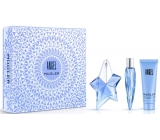 Thierry Mugler Angel perfumed water refillable bottle for women 25 ml + body lotion 50 ml + miniature 10 ml, gift set