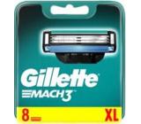 Gillette Mach 3 spare heads 8 pieces