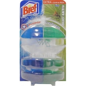 Bref Duo Active Extra Clean & Fresh Pine WC gel 60 ml + 2x refill
