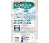 Corega Tabs Antibakteriální 3min čistící tablety na zubní náhrady 6 kusů
