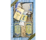 Bohemia Gifts Dead Sea Dead Sea with seaweed extract and salt shower gel 200 ml + hair shampoo 200 ml + bath salt 150 g + toilet soap 30 g, cosmetic set