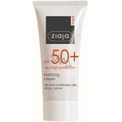 Ziaja Med Protecting SPF 50+ UVA + UVB matt suntan lotion 50 ml
