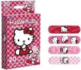 Hello Kitty Náplasti sterilní pro děti 20 kusů